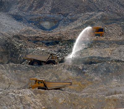 Dust Control in Quarry